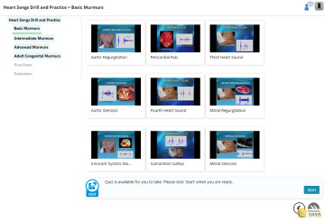 More detailed content is often broken into modules, or chapters.  The online course pictured has 4 modules, each module containing multiple videos, displayed with a split navigation.